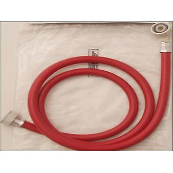 Primaflow Wash Machine Inlet Hose Red 1.5m 90007057