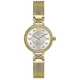Gc watches cable twist watch for Women Analog Quartz with stainless steel bracelet Y67003L1MF