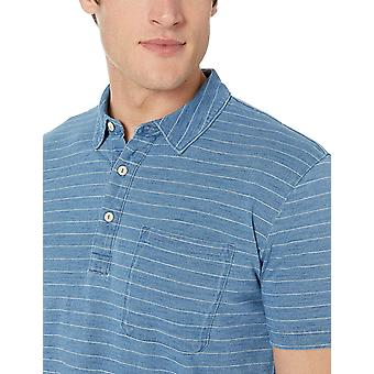 Brand - Goodthreads Men's Indigo Polo
