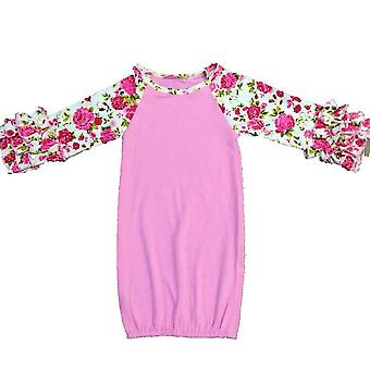 Baby Gowns, Icing Sleeve Nightgowns Baby Sleeping Bag, Cotton Clothes