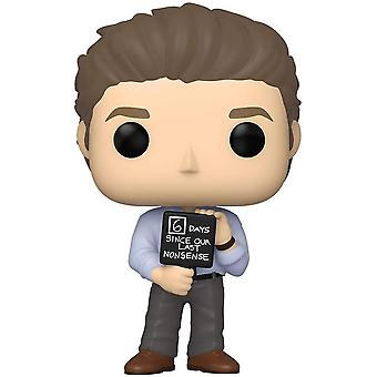 The Office Jim with Nonsense Sign Pop! Vinyl
