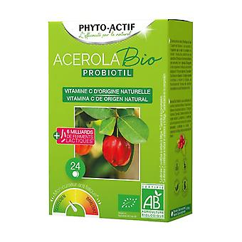 Acerola Bio Probiotil 24 tablets of 2.55mg