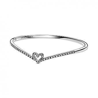 Jonc C?din V?u Scintillant 599297C01 Pandora smykker