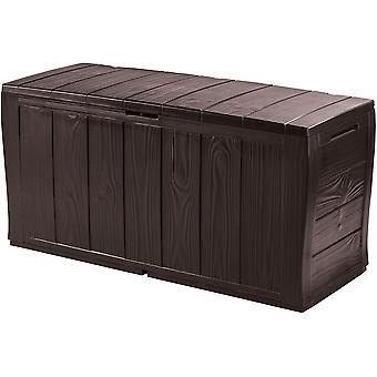 Tuinbox 270 L Bruin kunststof