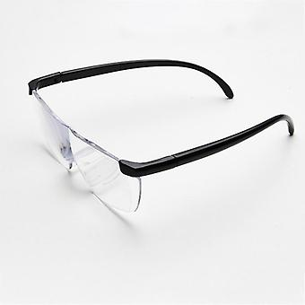 250 Degree Vision Glasses Magnifier Magnifying Eyewear Reading Glasses (+250