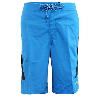 Nike Active Mens Casual Training Fitness Pantaloni scurți Blue 341894 480 A19D