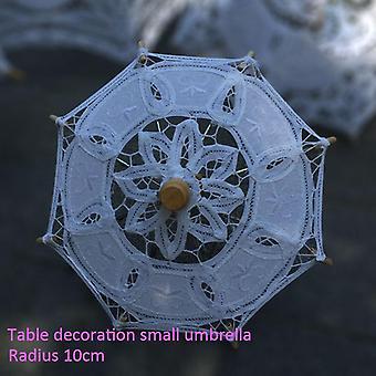 طرف الديكور الدانتيل مظلة، الزفاف المظلات