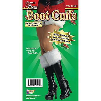 Bristol Novelty Unisex Adults Faux Fur Boot Cuffs (1 Pair)