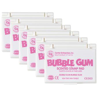 Scented Stamp Pad, Bubble Gum/Pink, Pack Of 6