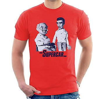 Supercar Mike And Professor Popkiss Men's T-Shirt