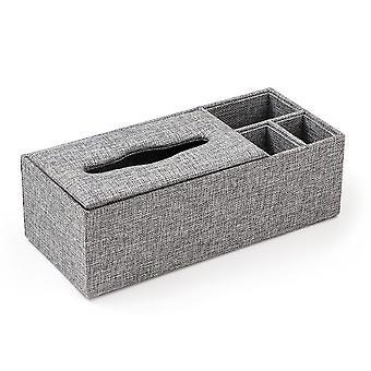 XL tkáňová krabička se 3 přihrádky