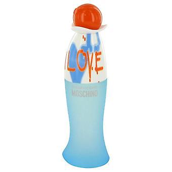 I Love Love Eau De Toilette Spray (Tester) By Moschino 3.4 oz Eau De Toilette Spray