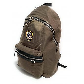 Bag Blauer Backpack Man Nevada Backpack Nylon Grey Elephant Ub21bu04
