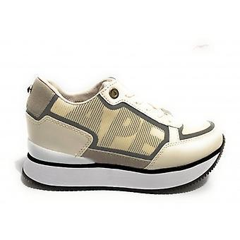 Spor ayakkabı Apepazza Mod çalışan. Raina Kama Deri Alt / Kadın Beyaz Kumaş D21ap07