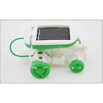 6 In 1 Solar Power Robot Kit Assemble Gadget Airplane Boat Car Train Model
