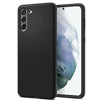 Skrov för Samsung Galaxy S21 5g i silikon svart matta, flytande luft