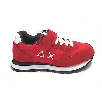 Shoes Baby Sun68 Sneaker Boy's Tom Solid Nylon Red Zs21su11 Z31301