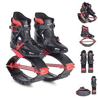 Byox, jump schoenen rood, gebogen zool, flexibele T-veer, diverse maten