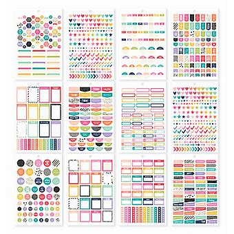 Simple Stories - A5 Sticker Tablet - Planner Basics