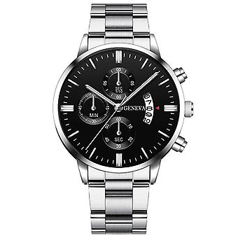 Stainless Steel Luxury Calendar Watch