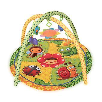 Lorelli manta arrastrándose jugar estera jardín jugar arco espejo rattle colores coloridos