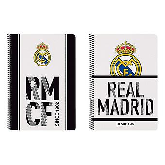 Book of Rings Real Madrid C.F. White Black A4