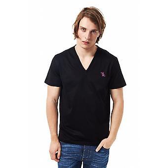 Billionaire Italian Couture Black T-shirt-BI1392056