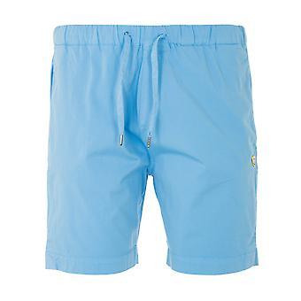 Armor Lux Heritage Drawstring Shorts - Light Blue