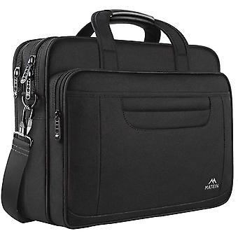 FengChun 15,6 Zoll Laptop Tasche, Computer Aktentasche Wasserabweisende multifunktionale groe