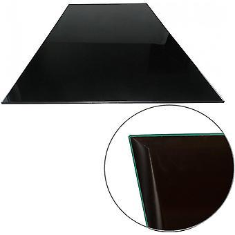 Glasplatte für Kaminofen - Glasscheibe mit 6mm ESG Sicherheitsglas - perfekt geeignet als