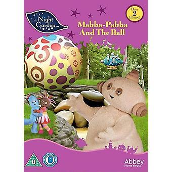 In The Night Garden: Makka Pakka and the Ball DVD