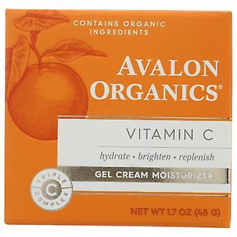 Avalon Organics Vitamin C Gel Cream Moisturizer, 1.7 Oz