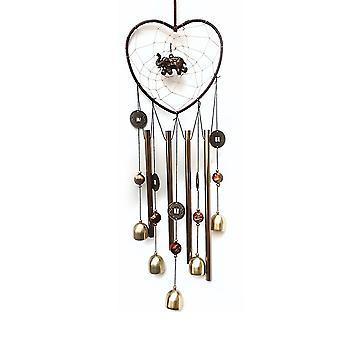 Campanelli a vento, tubi di alluminio Memorial Wind Bell per giardino patio arredamento regali ringraziamento per la mamma,