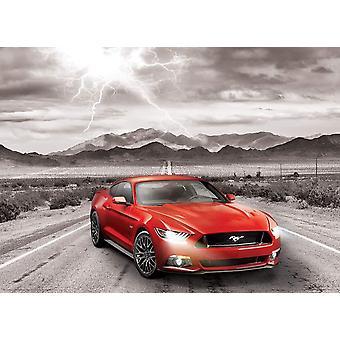 Eurographics Ford Mustang GT 2015, Cinquante ans de puzzle de puissance (1000 pièces)