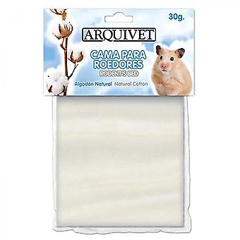 Hamster Cotton Bed White 30 G