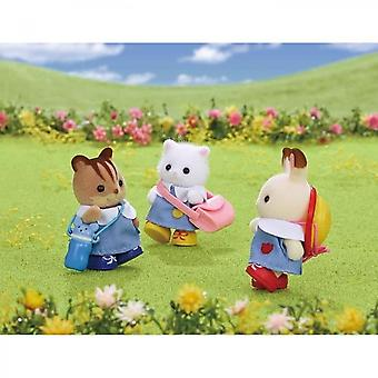 Sylvanian Families The 3 Friends Of The Creche Dolls