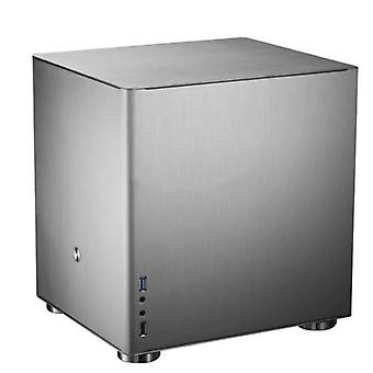 V4s V4 כסף Htpc מקרה Matx עם כל אלומיניום 1.5mm, 3.5' Hdd, Usb3.0 5gbps,