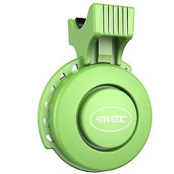 Велосипед электрический водонепроницаемый колокол, USB перезаряжаемый пыленепроницаемый рожок (зеленый)