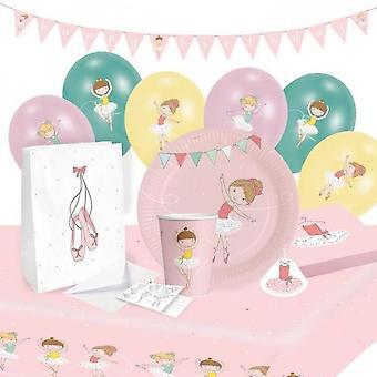 Kit de fiesta Little Dancer 61 piezas