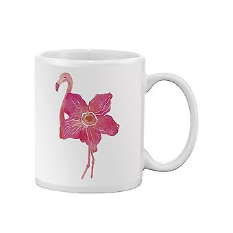 Flamingo Flower Mug -SPIdeals Mallit