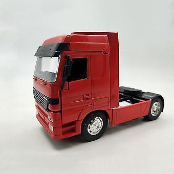 1:32 Scale Trailer Head Truck Model Die cast Modification Scene Accessories Car Vehicle Display