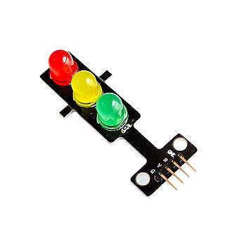 100Pcs led semáforos módulo emisor de luz / módulo de semáforo de salida de señal digital /