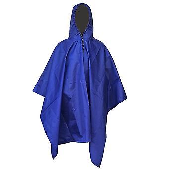 3 in 1 outdoor militaire waterdichte regenjas regenjas mannen regenjas vrouwen luifel van de regen motorfiets regen poncho picknick mat