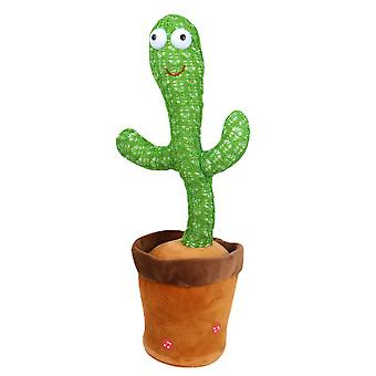 Swotgdoby Magical Cactus, Singing And Dancing, Decompress Cactus Toy