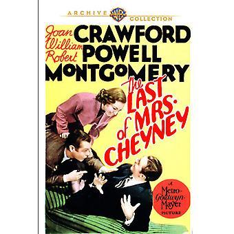 Letzte der Frau Cheyney [DVD] USA import