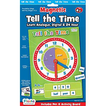 Фиеста ремесел магнитные сказать время