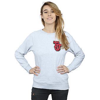 Tom And Jerry Women's Collegiate Logo Sweatshirt