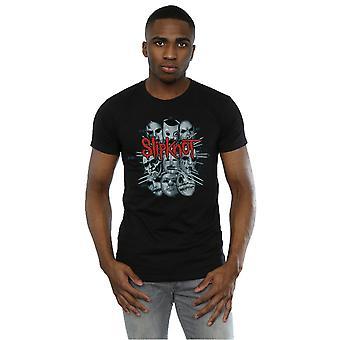 Slipknot bande masques T-Shirt homme
