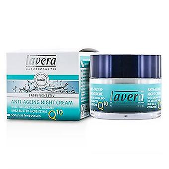 Lavera Basis Sensitiv Q10 Anti-ageing Night Cream - 50ml/1.6oz