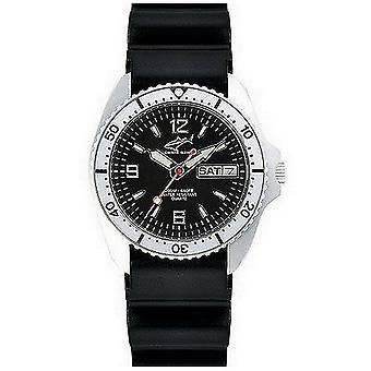 CHRIS BENZ - Diver Watch Wristwatch - ONE MEDIUM 200M - CBM-S-KB-SI